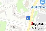 Схема проезда до компании Терем+ в Москве