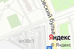 Схема проезда до компании Автостоянка №14 в Москве