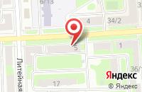 Схема проезда до компании Империя красоты в Подольске