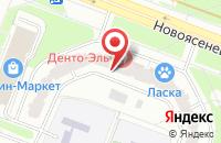 Схема проезда до компании Алерон в Москве