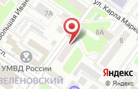 Схема проезда до компании Единый информационно-расчетный центр ЖКХ в Подольске