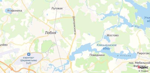 Ерёмино на карте