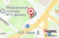 Схема проезда до компании Поуз в Подольске