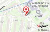Схема проезда до компании Секретный Мир в Москве