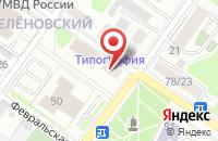 Схема проезда до компании Центр бухгалтерского и правового сопровождения бизнеса в Подольске