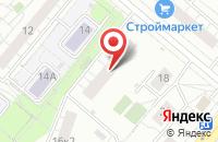 Схема проезда до компании Маэрс в Москве