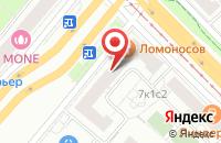 Схема проезда до компании Квазар в Москве