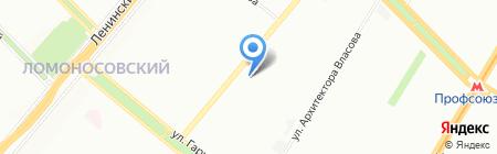 Kasper на карте Москвы