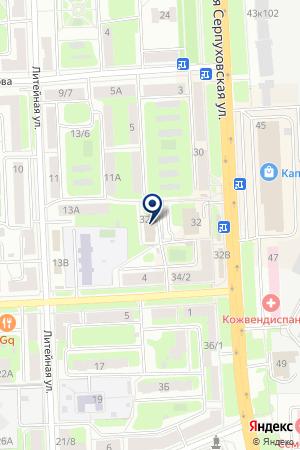 ТФ ВИО на карте Серпухова
