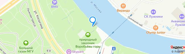 Воробьевская набережная