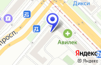 Схема проезда до компании НОТАРИУС ФЕДОРЕНКО А.В. в Москве