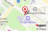 Схема проезда до компании Будем друзьями в Подольске