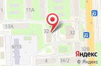 Схема проезда до компании Охота в Подольске