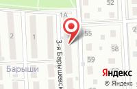 Схема проезда до компании Свет в Ответ в Щербинке