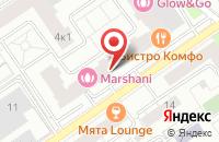 Схема проезда до компании Мерид-Экспресс в Москве