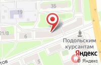 Схема проезда до компании Центр бытовых услуг в Подольске