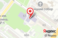 Схема проезда до компании Академия+ в Подольске