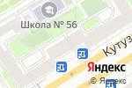 Схема проезда до компании Центральная библиотека им. А.Н. Толстого в Москве