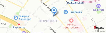 Строитель-2+ на карте Москвы