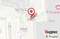 Схема проезда до компании Garage в Подольске