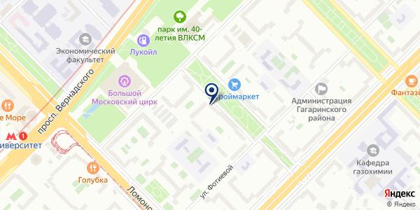 Штора1.рф на карте Москве
