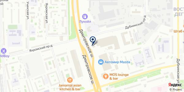 Авто-Механика на карте Москве