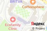 Схема проезда до компании Экотехнология в Москве