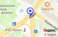 Схема проезда до компании ТЦ ОСТРОВ СОКРОВИЩ в Подольске