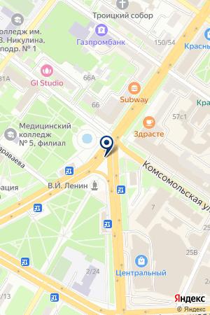 АГНКС на карте Подольска