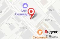 Схема проезда до компании М-Форс в Москве