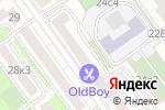 Схема проезда до компании Белорусские кухни ЗОВ в Москве