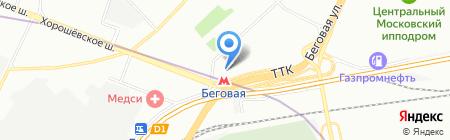 Фишерия на карте Москвы