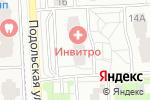Схема проезда до компании Аква Ерино в Подольске
