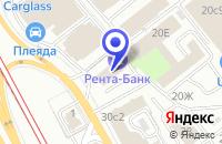 Схема проезда до компании ПТФ АВИКО-ЛЮКС в Москве