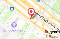 Схема проезда до компании АйКофф в Москве