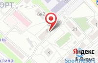Схема проезда до компании Информ-Интеграция в Москве