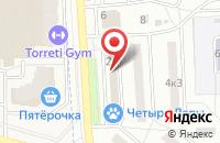 Схема проезда до компании Лабиринт.ру в Подольске