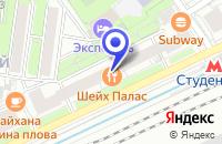 Схема проезда до компании ПРОИЗВОДСТВЕННАЯ ФИРМА РАССВЕТ в Москве