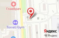 Схема проезда до компании Центр Творческого Развития и Психологической Поддержки «Золотое Сечение» в Подольске