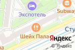 Схема проезда до компании Бюро медицинской статистики в Москве
