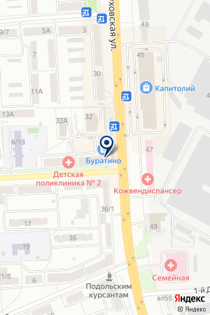 ПТФ ВАС на карте Серпухова