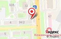 Схема проезда до компании Золотой Экспресс в Подольске