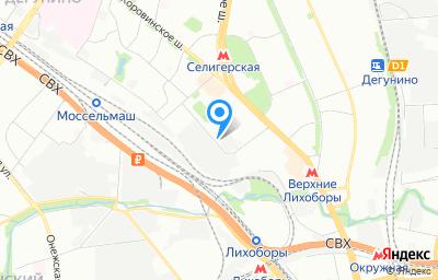 Местоположение на карте пункта техосмотра по адресу г Москва, проезд Ильменский, д 10 стр 2а