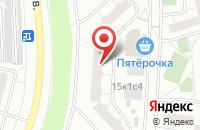 Схема проезда до компании Футбол Ультрас в Москве