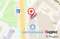 Схема проезда до компании DPD в Подольске