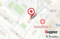 Схема проезда до компании Ромулея в Москве