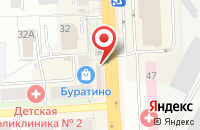 Схема проезда до компании Интим Хаус в Подольске