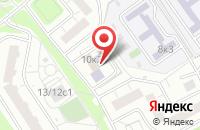 Схема проезда до компании Техгазинвест в Москве