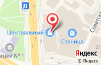 Схема проезда до компании Love Story в Подольске