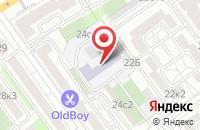 Схема проезда до компании ПРОМКОМПЛЕКТ в Белгороде